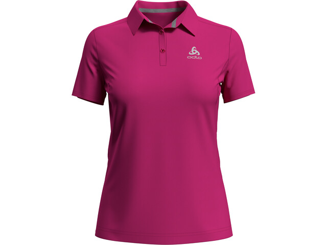 Odlo F-Dry Poloshirt Dames, beetroot purple